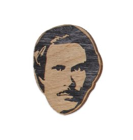 Letter Craft Will Ferrell (Ron Burgundy) Wooden Magnet