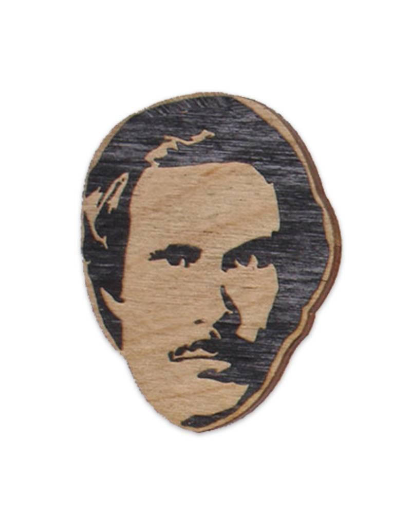 Letter Craft Will Ferrell (Anchor Man) Wooden Magnet