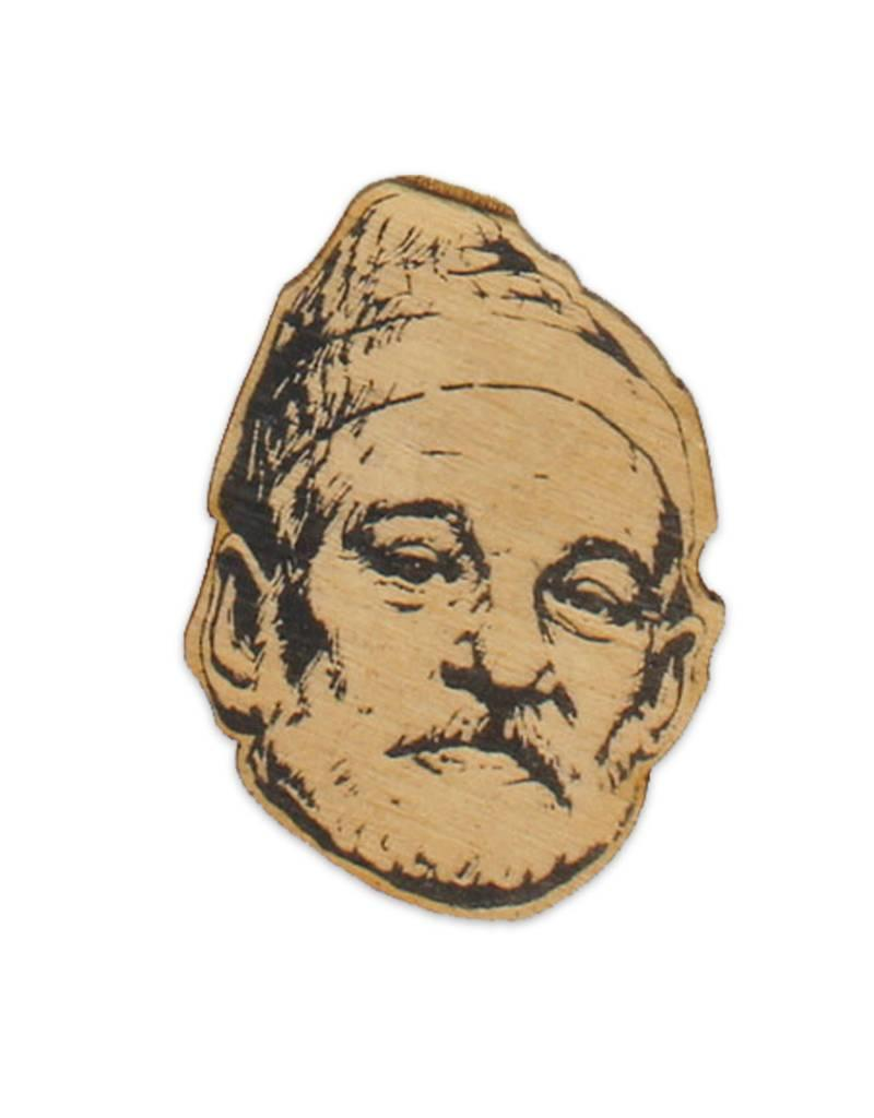 Letter Craft Bill Murray Wooden Magnet