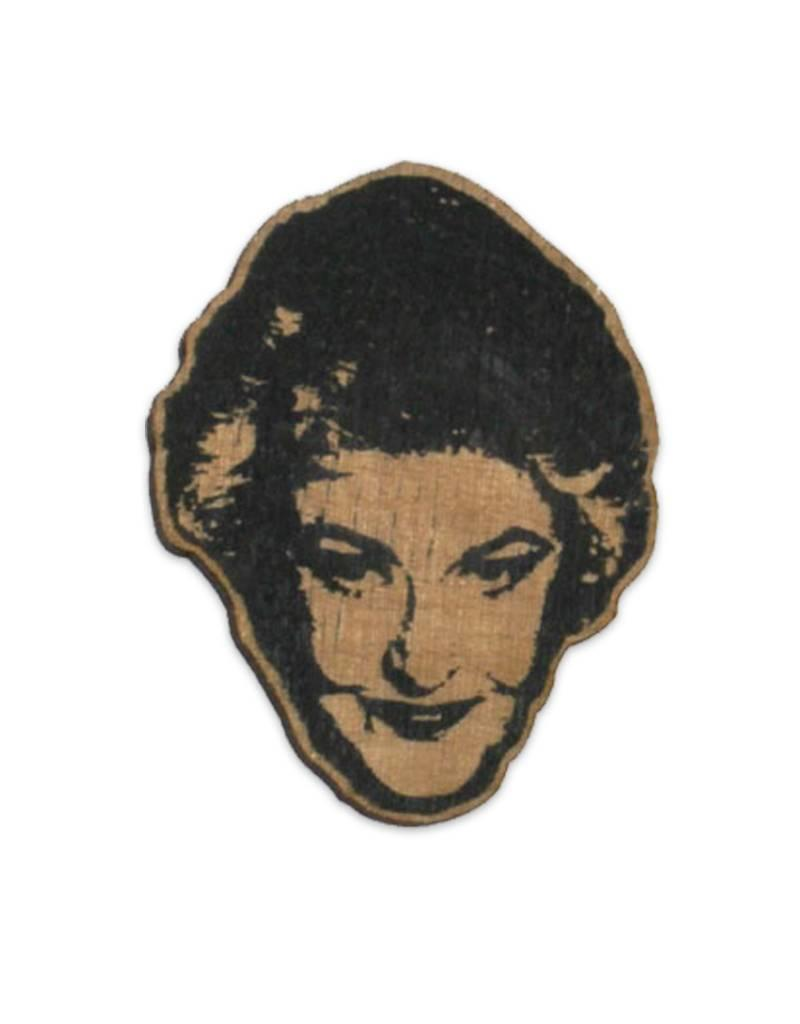 Letter Craft Bea Arthur Wooden Magnet