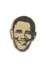 Letter Craft Barack Obama Wooden Magnet