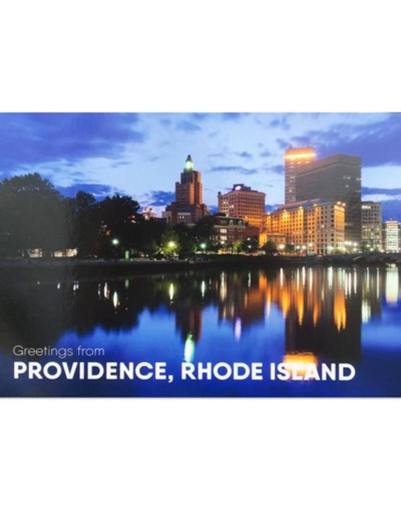 Frog & Toad Press Downtown Providence Hassan Bagheri Postcard