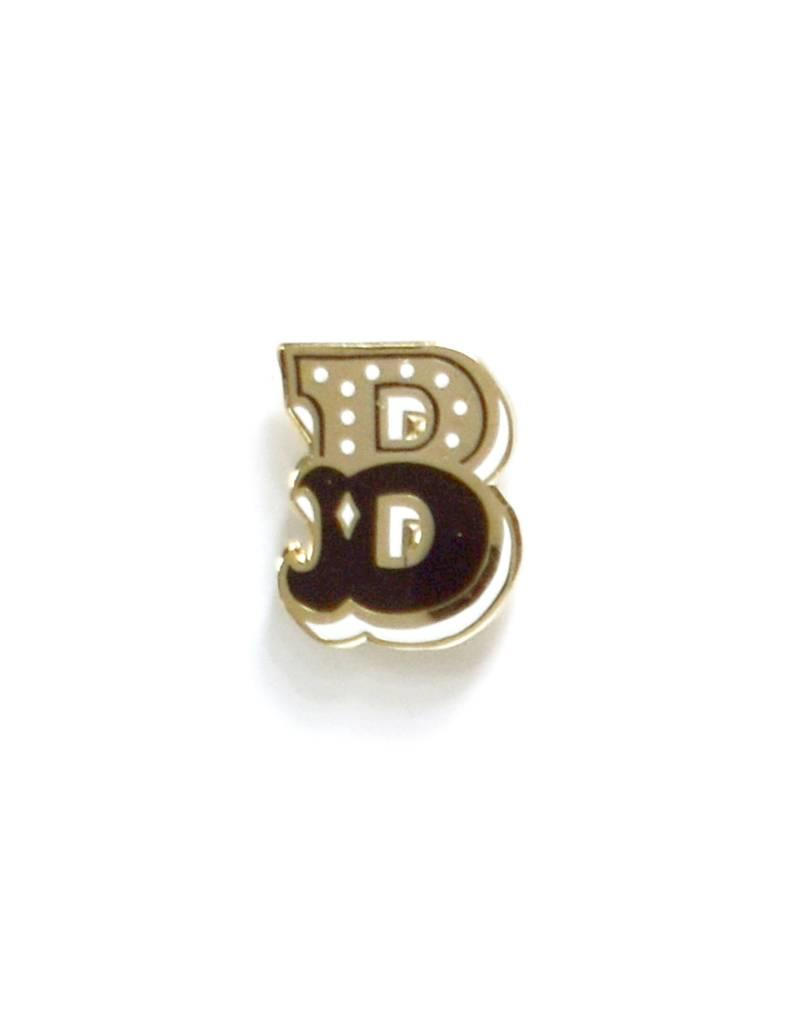 Frog & Toad Press Letter B Enamel Pin