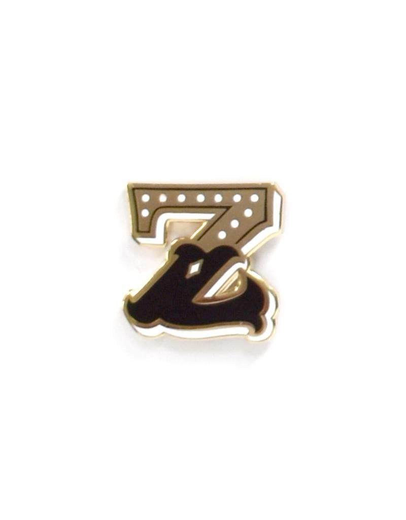 Frog & Toad Press Letter Z Enamel Pin