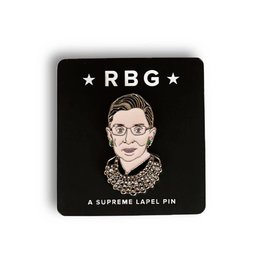 FCTRY Ruth Bader Ginsburg Enamel Pin