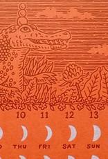 Alec Thibodeau Lunar Calendar 2019 Print