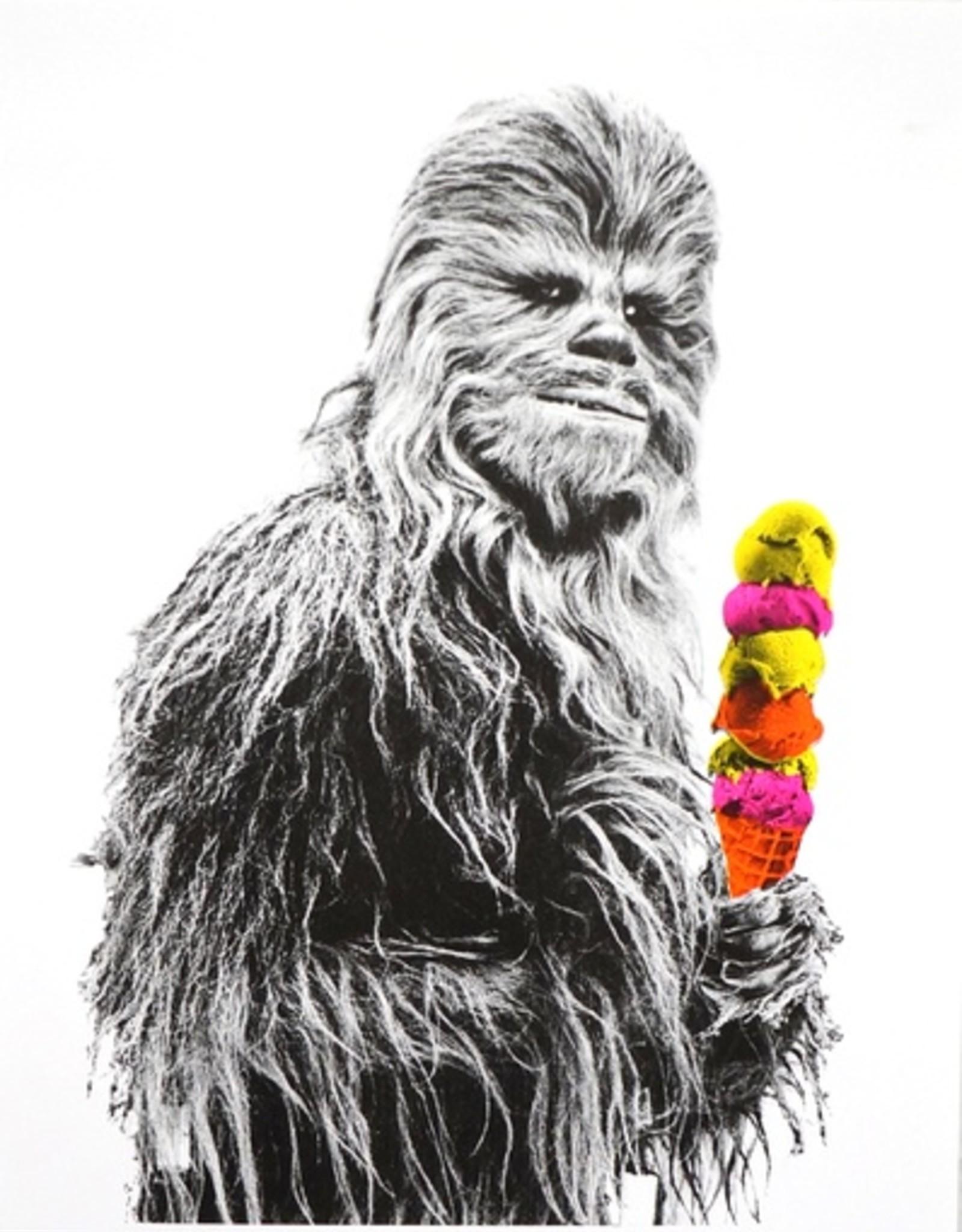 Chewbacca Risograph Print