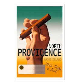 Frog & Toad Design North Providence Greeting Card