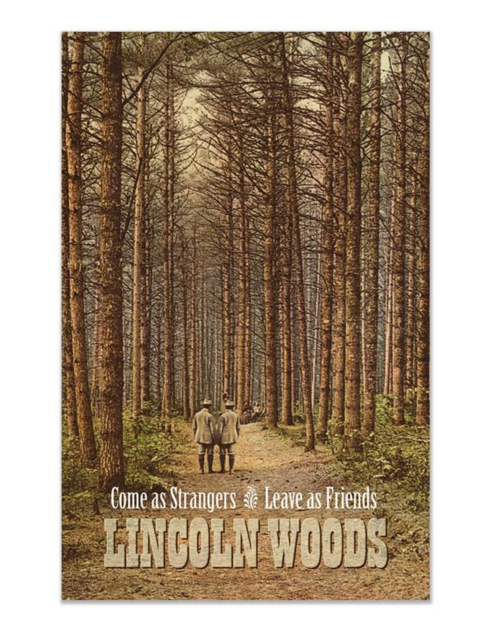 Lincoln Woods Greeting Card