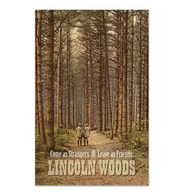 Frog & Toad Design Lincoln Woods Greeting Card