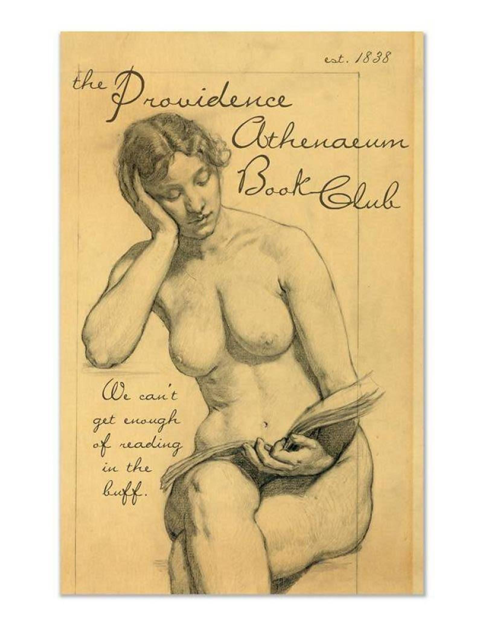 Athenaeum Book Club Greeting Card