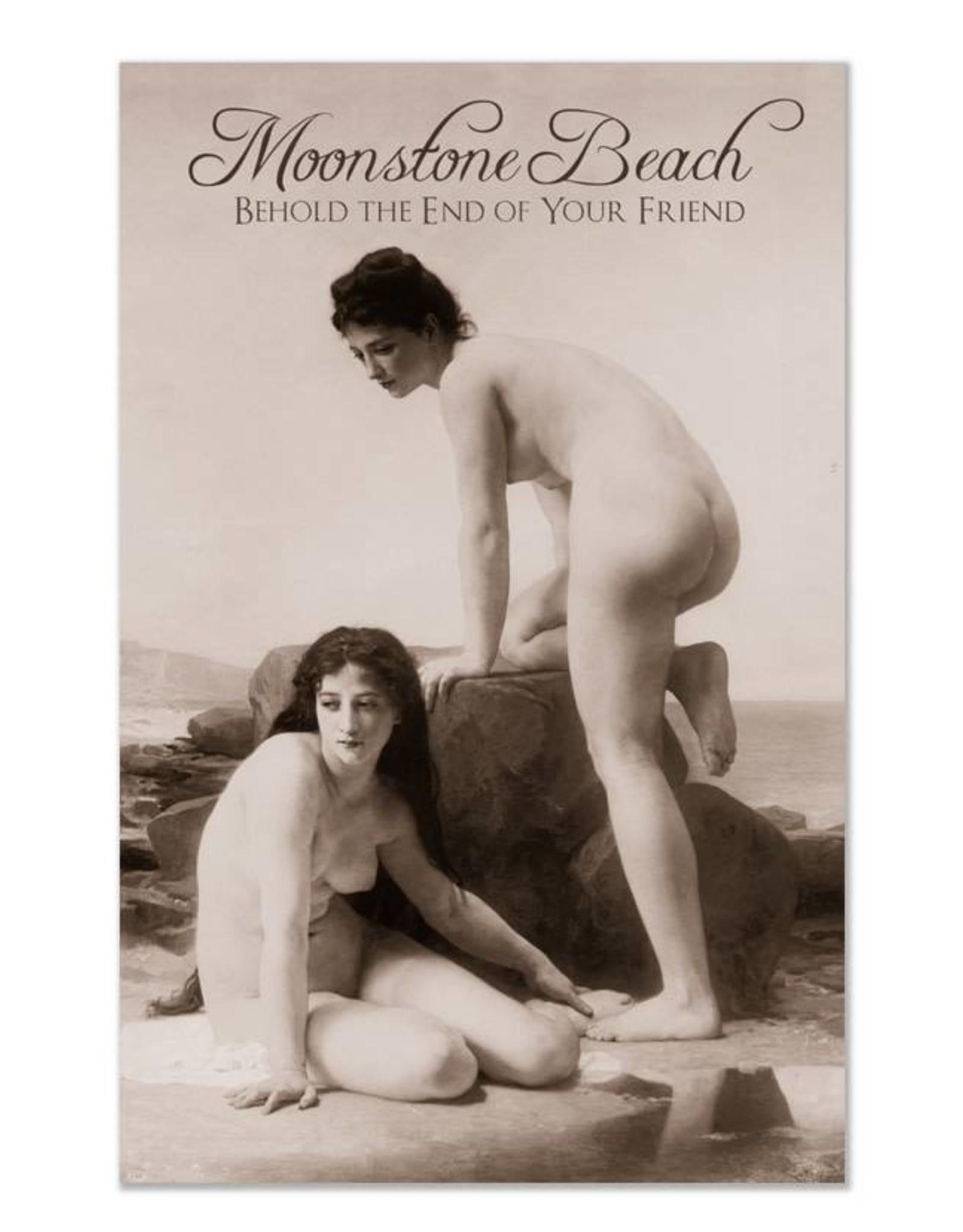 Moonstone Beach Greeting Card