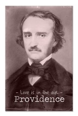 Love is in the Air Poe Providence Greeting Card