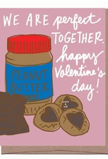 Scratch n Sniff PB & Chocolate Valentine's Day Greeting Card
