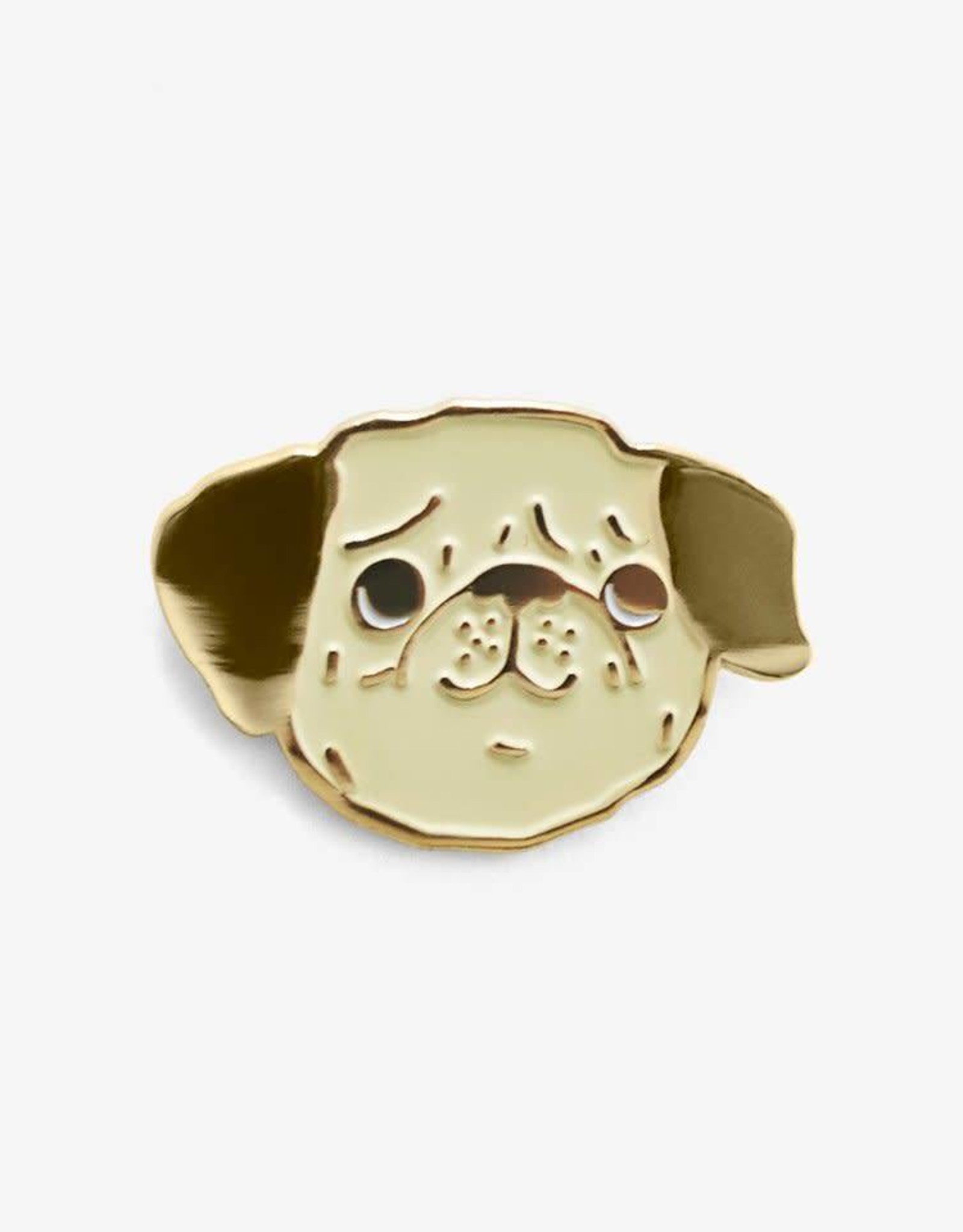 Peggy the Pug Enamel Pin