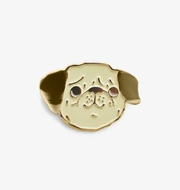 The Good Twin Co. Peggy the Pug Enamel Pin