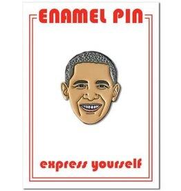 The Found Barack Obama Enamel Pin