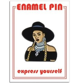 The Found Beyonce Formation Enamel Pin