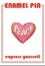The Found Peace Heart Enamel Pin