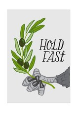 Frog & Toad Press Hold Fast Postcard