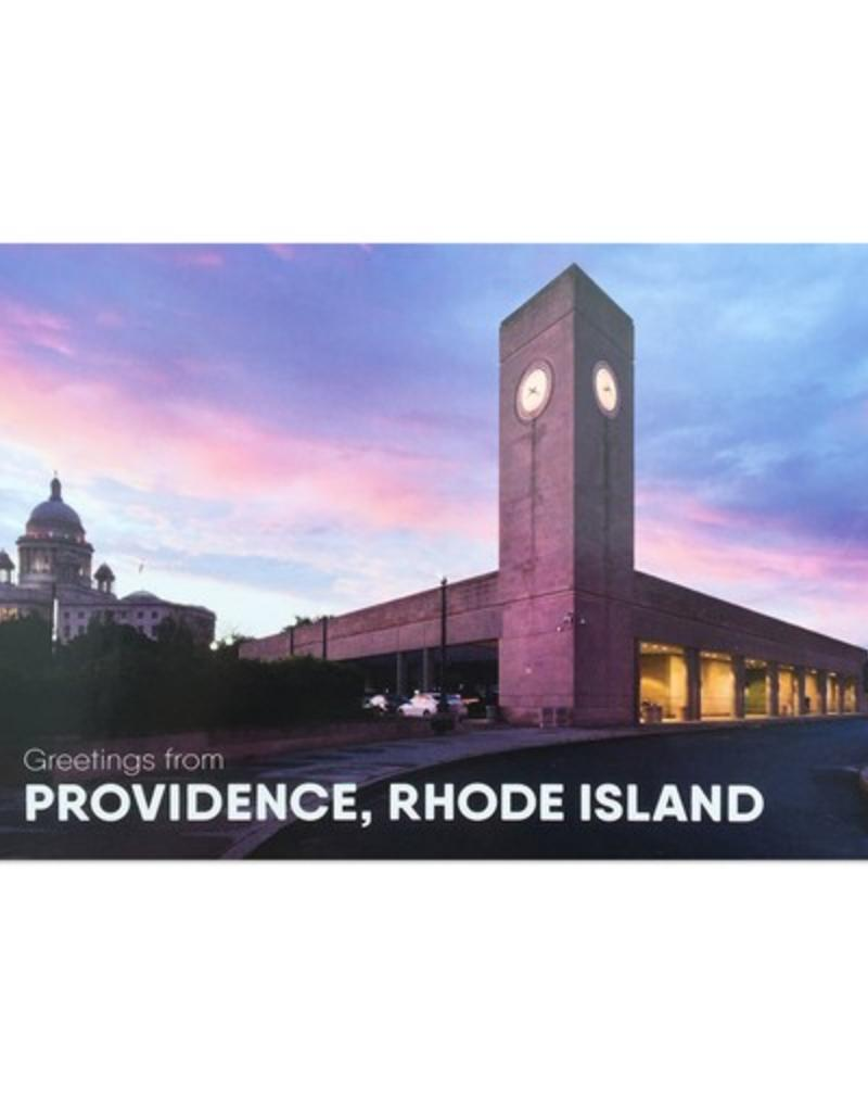 Frog & Toad Press Providence Train Station Hassan Bagheri Postcard