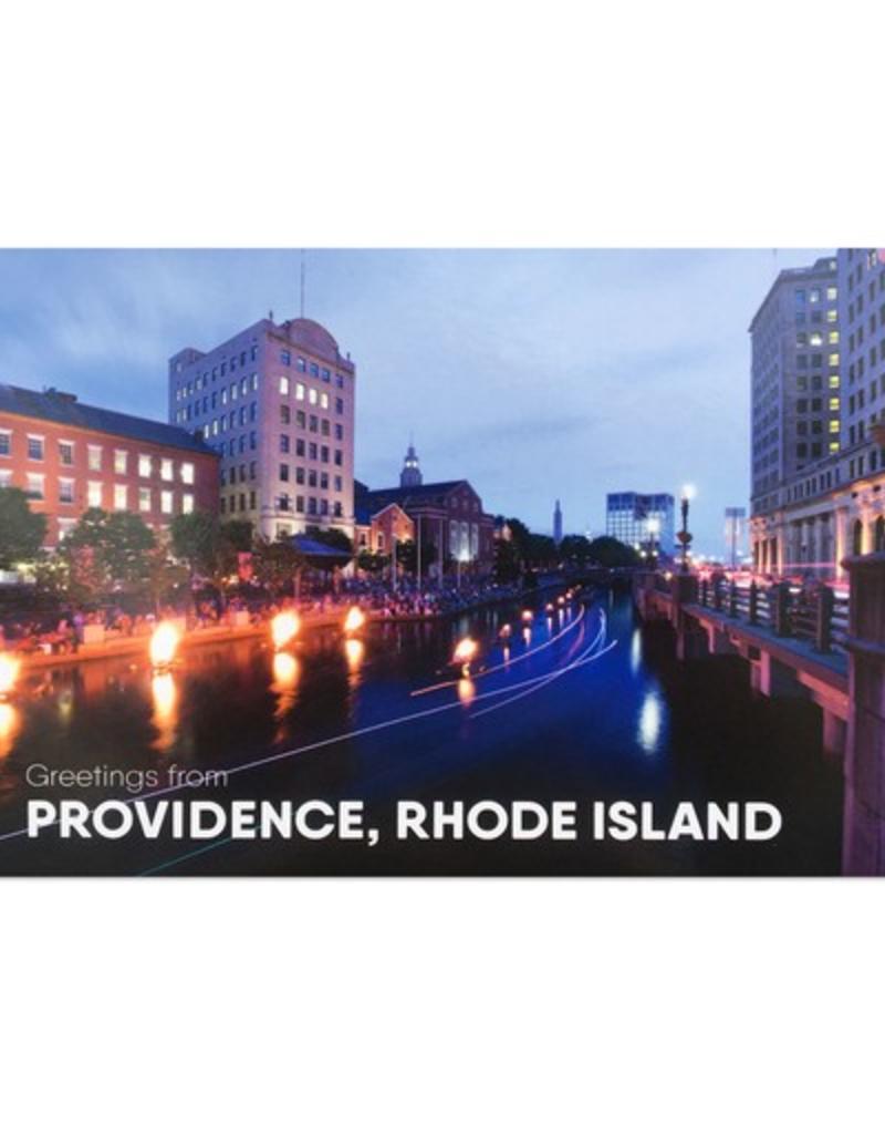 Frog & Toad Press RISD/Water Fire Hassan Bagheri Postcard