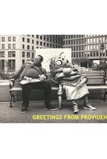 Frog & Toad Press Big Nazo and Skateboarder Postcard