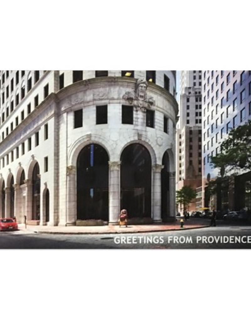 Frog & Toad Press Big Nazo and Turks Head Building Postcard