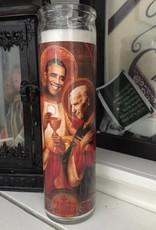 Rust Belt Cooperative St. Biden & Obama BFF Prayer Candle