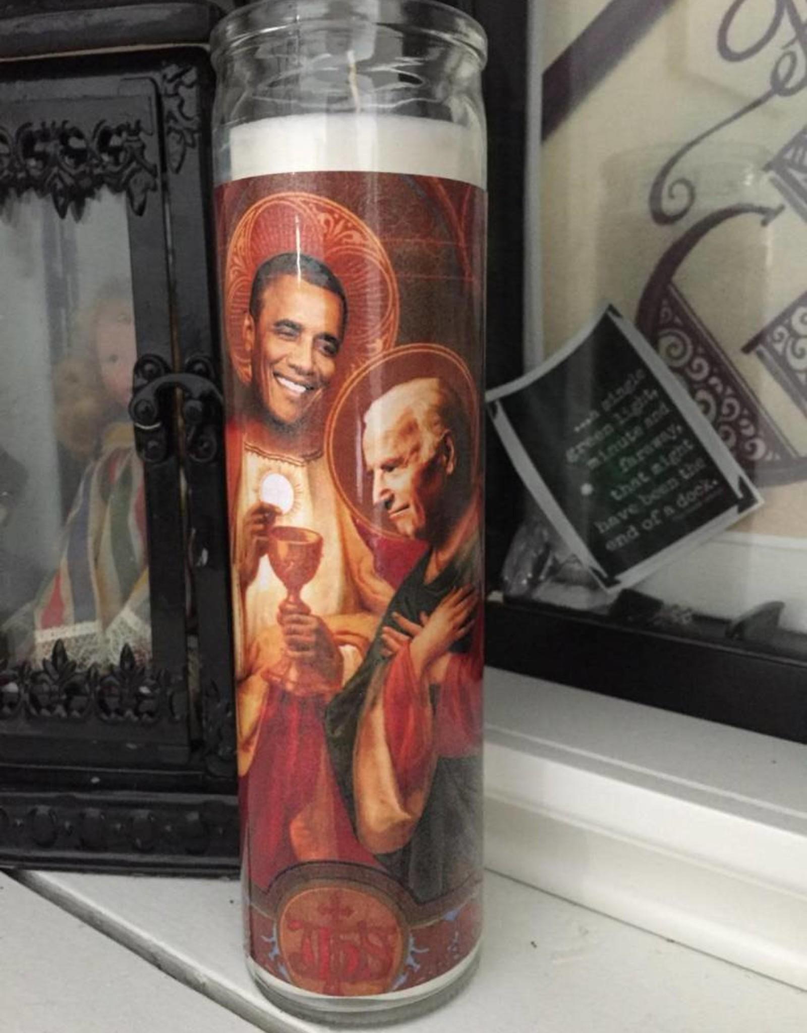 St. Biden & Obama BFF Prayer Candle