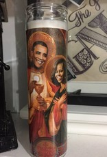 Rust Belt Cooperative Michelle & Barack Obama Prayer Candle