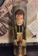 Rust Belt Cooperative St. David Bowie Prayer Candle