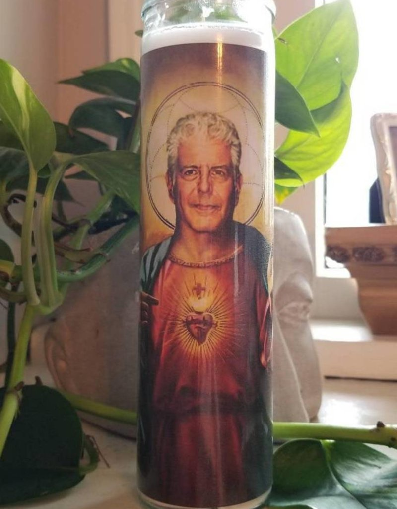 Rust Belt Cooperative St. Anthony Bourdain Prayer Candle