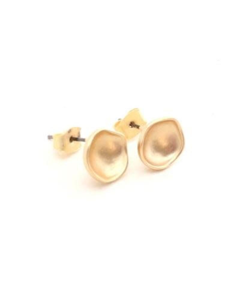 Crafts & Love Geometric Studs - Gold Circles