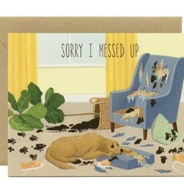 Yeppie Paper Sorry I Messed Up Dog Greeting Card