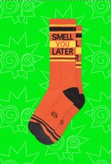 Gumball Poodle Smell You Later Ribbed Gym Socks