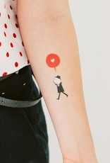 Tattly Enamorado Tattoo Set of 2