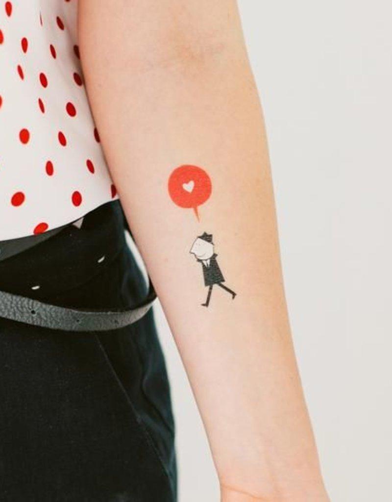 Tattly Enamorado Tattoo Set of 2