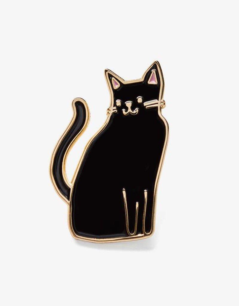 The Good Twin Co. Black Cat Pin