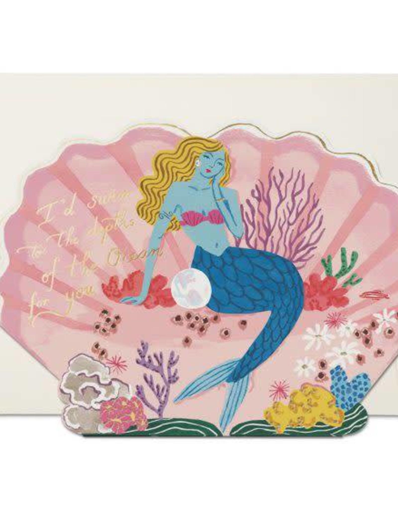 Depths of the Ocean For You Mermaid Greeting Card