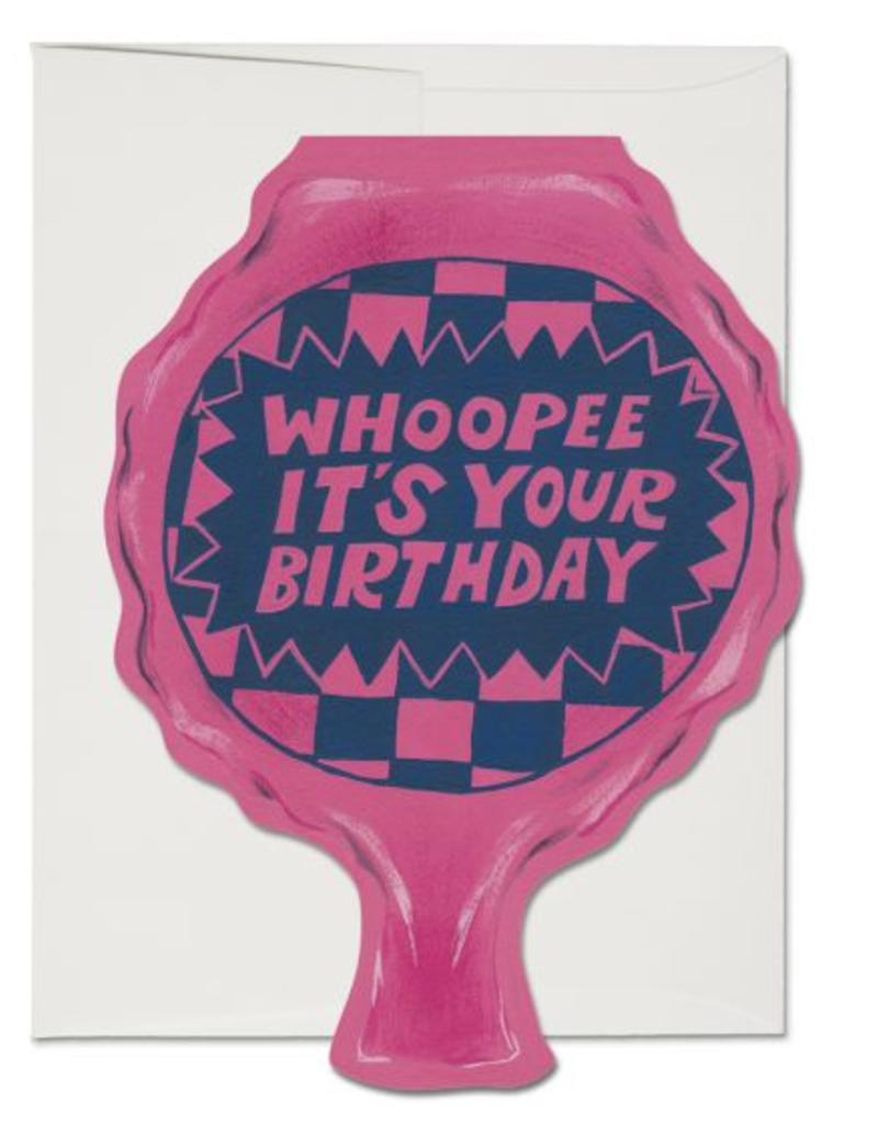 Red Cap Cards Whoopee It's Your Birthday Greeting Card
