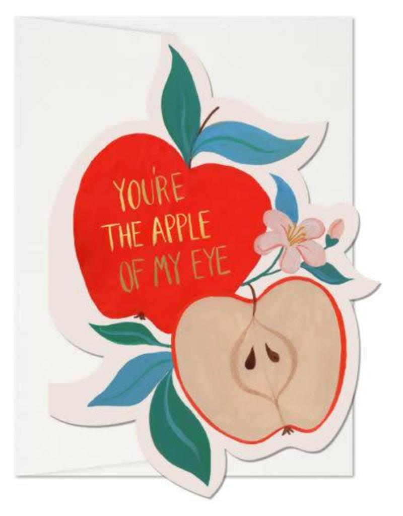Red Cap Cards You're The Apple Of My Eye Greeting Card