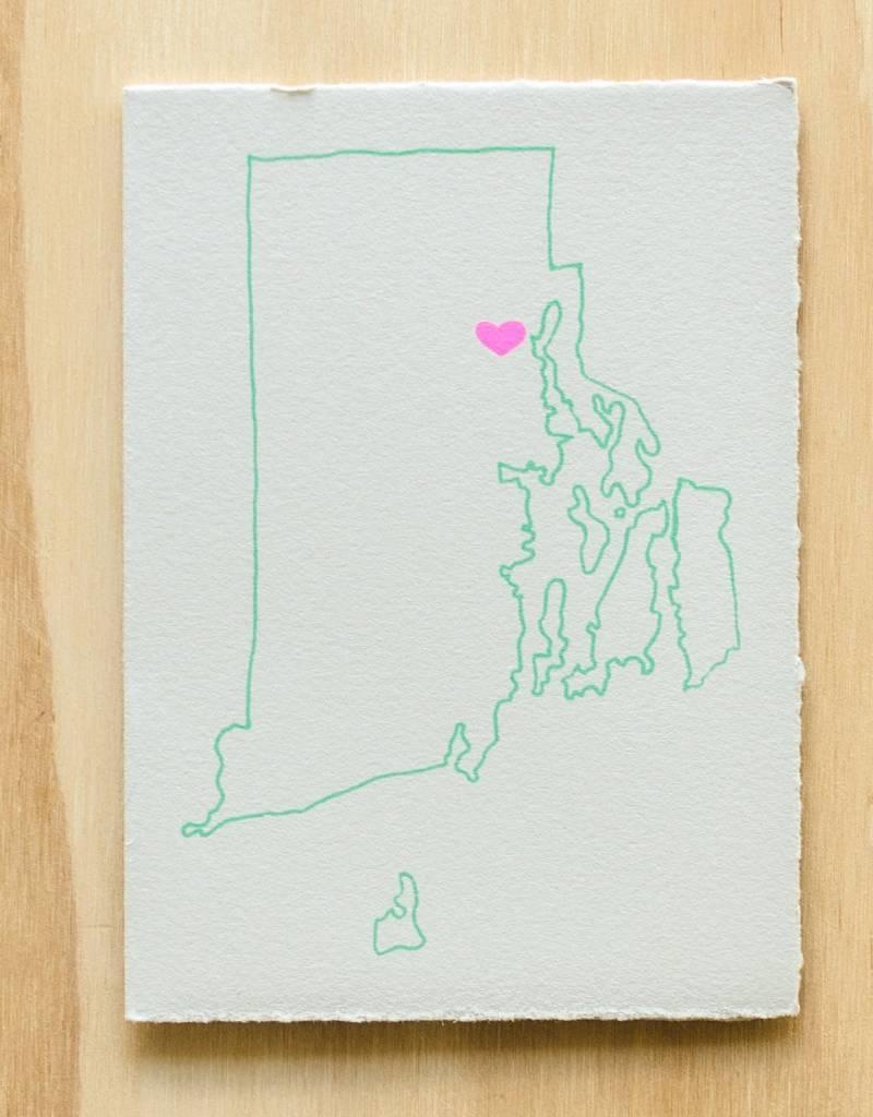Gold Teeth Brooklyn Rhode Island Heart Greeting Card