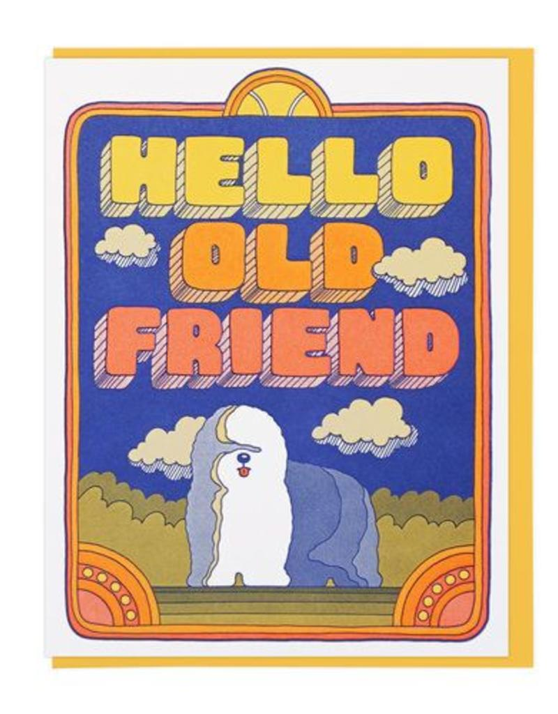 Lucky Horse Press Hello Old Friend Greeting Card