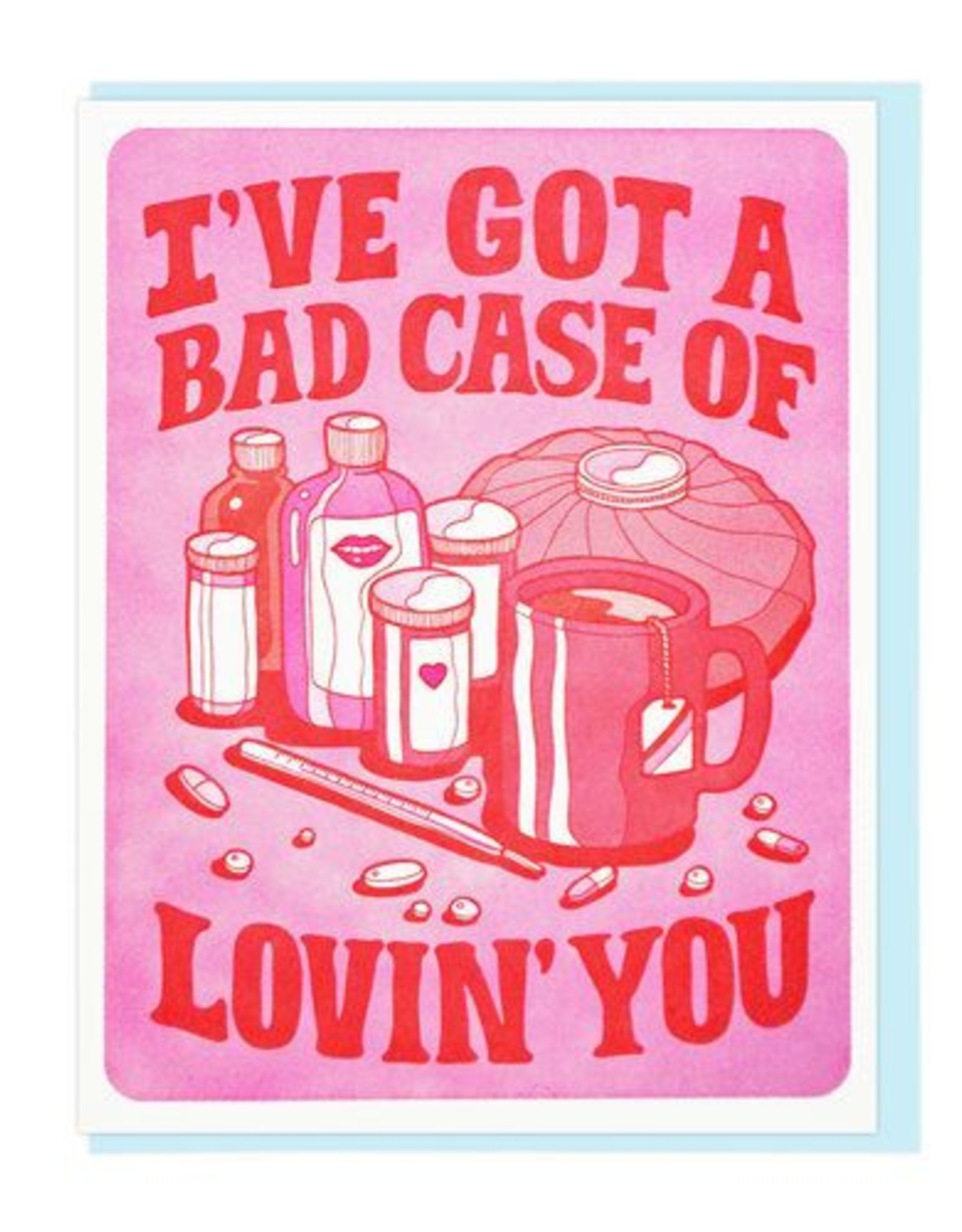 Lucky Horse Press I've Got A Bad Case Of Lovin' You Greeting Card
