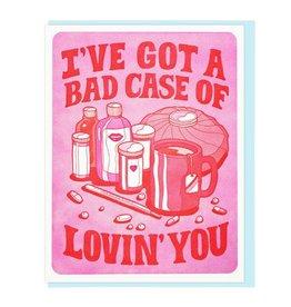 I've Got A Bad Case Of Lovin' You Greeting Card