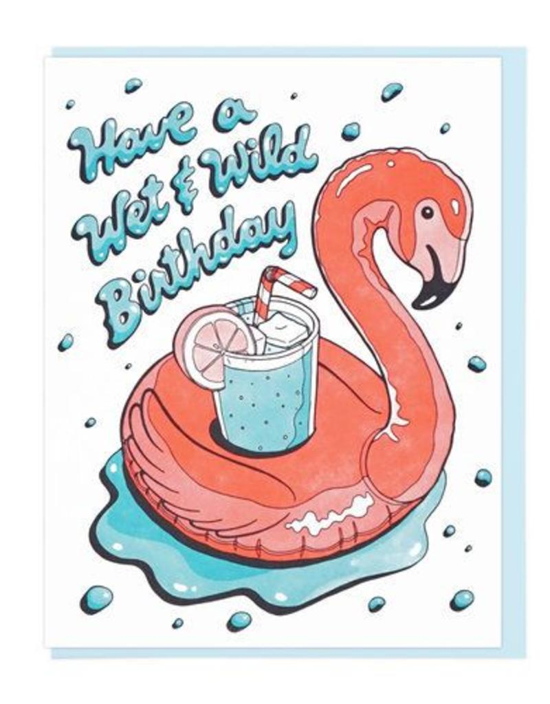 Lucky Horse Press Have A Wet & Wild Birthday Greeting Card