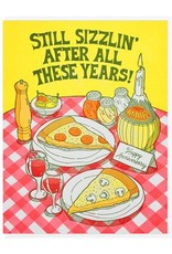 Still Sizzlin' After All These Years Greeting Card
