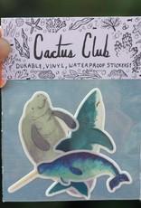 Cactus Club Paper Marine Sticker Pack