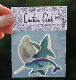 Cactus Club Paper Marine Sticker Pack